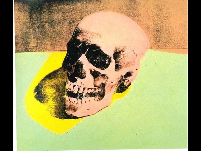 Andy-warhol-skull